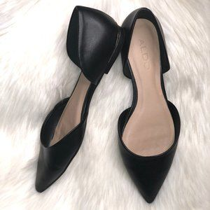 ALDO Neroli Ballet Women's Black D'Orsay Flats